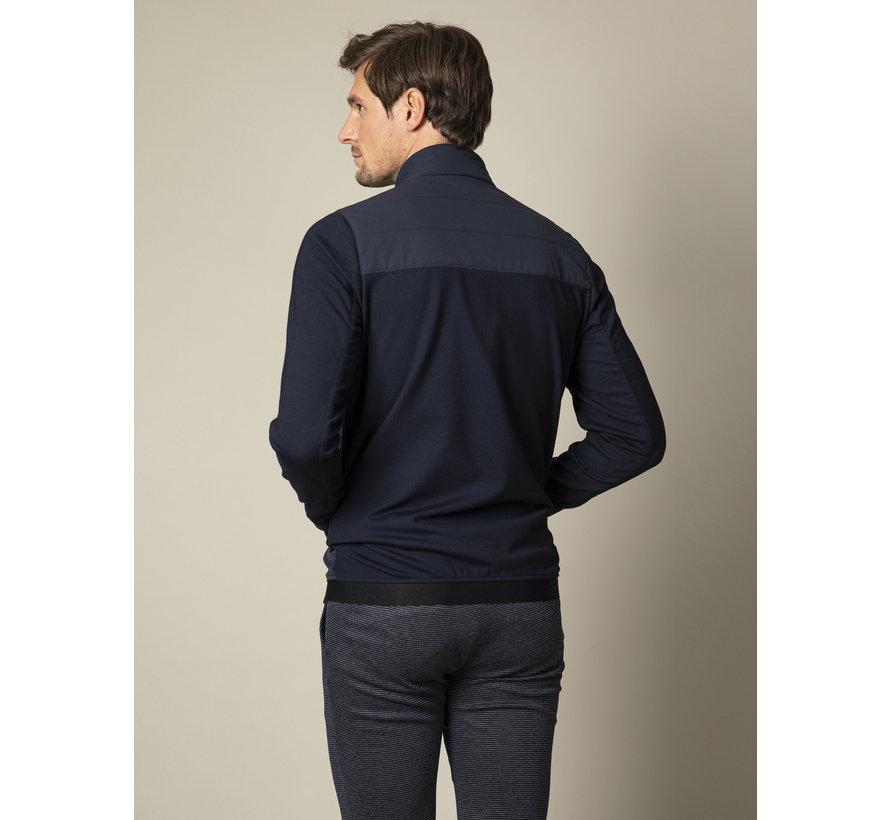Vest Sweat Mattarello Donker Blauw (120211000-699000)