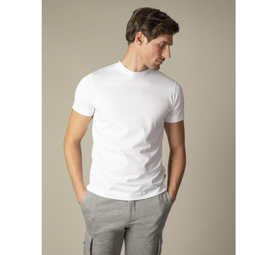 T-shirt Ronde Hals Chiavari Wit (117211001-100000)