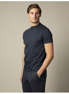 Cavallaro Napoli T-shirt Ronde Hals Chiavari Donker Blauw (117211001-699000)