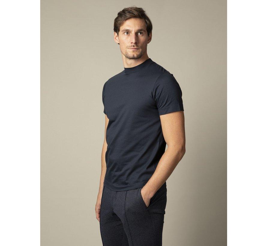 T-shirt Ronde Hals Chiavari Donker Blauw (117211001-699000)