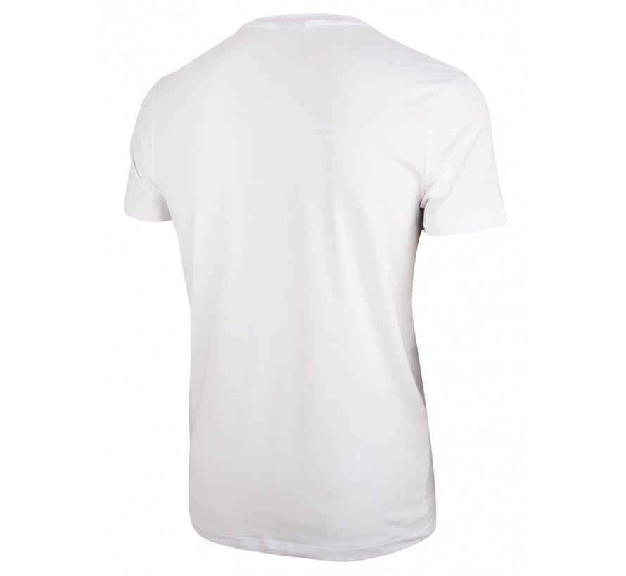 T-shirt Ronde Hals Napoli Wit (117211010-100000)