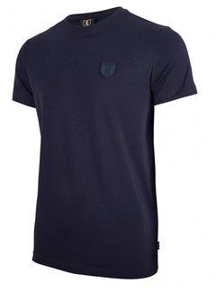 Cavallaro Napoli T-shirt Ronde Hals Napoli Donker Blauw (117211010-699000)