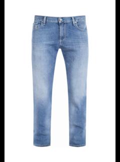 Alberto Jeans Slipe Tapered Fit Blauw (6837 1370 - 840)N
