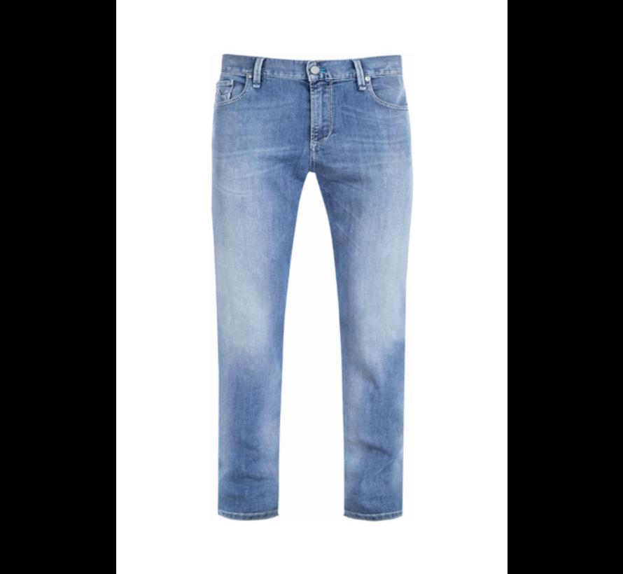 Jeans Slipe Tapered Fit Blauw (6837 1370 - 840)N