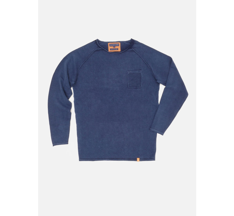 Sweater Noah Midnight Blauw (9121-100 - 699)