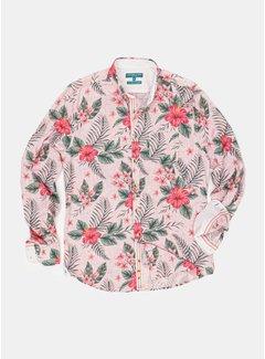 Colours & Sons Overhemd Peter Hawaiin Flowers (9121-260 - 263)