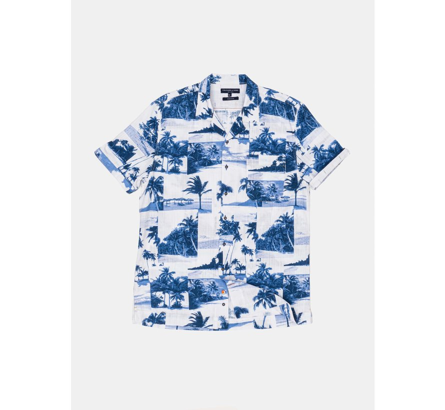 Overhemd Yuri Blue Palms (9121-340 - 341)