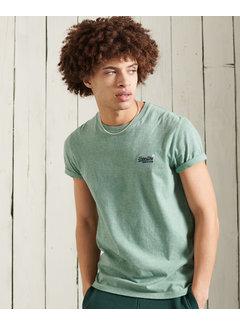 Superdry T-shirt Ronde Hals Seagrass Groen (M1010222A - 3PD)