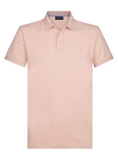 Profuomo Polo Korte Mouw Light Pink (PPSJ1A0004)
