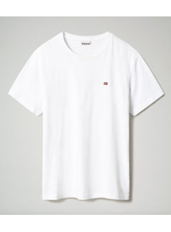 Napapijri T-shirt Ronde Hals Salis Wit (NP0A4EW8 - 0021)