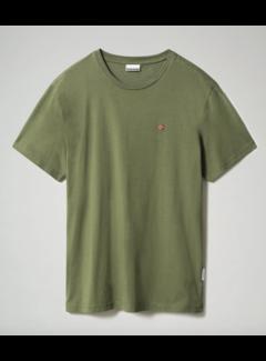 Napapijri T-shirt Ronde Hals Salis Groen (NP0A4EW8 - G2C1)