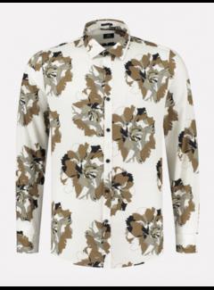 Dstrezzed Overhemd Print Off White (303418 - 102)