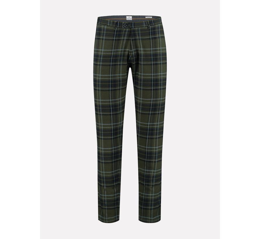 Chino Pant English Check Groen (501303 - 511)