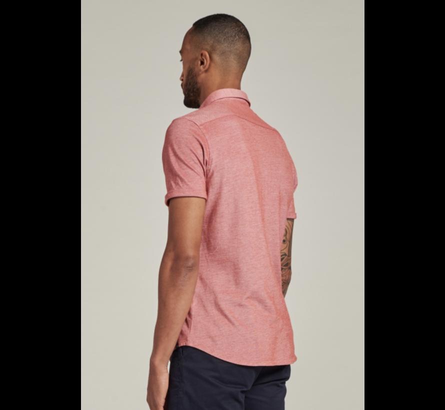 Overhemd Korte Mouw Stone Rood (311226 - 410)