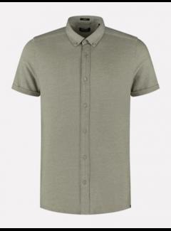 Dstrezzed Overhemd Korte Mouw Army Groen (311226 - 511)