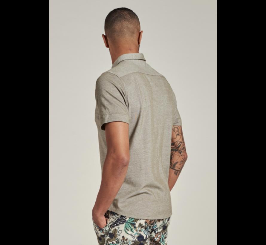 Overhemd Korte Mouw Army Groen (311226 - 511)