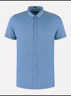 Dstrezzed Overhemd Korte Mouw Sky Blauw (311226 - 628)