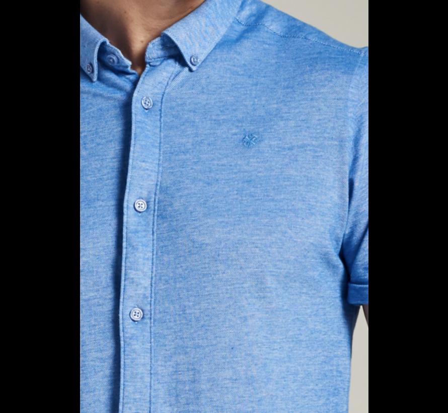Overhemd Korte Mouw Sky Blauw (311226 - 628)