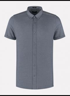 Dstrezzed Overhemd Korte Mouw Navy Blauw (311226 - 649)