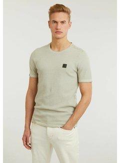 CHASIN' T-shirt Ronde Hals BASAL TEE Groen (5211.337.001 - E51)
