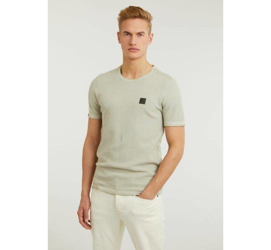T-shirt Ronde Hals BASAL TEE Groen (5211.337.001 - E51)