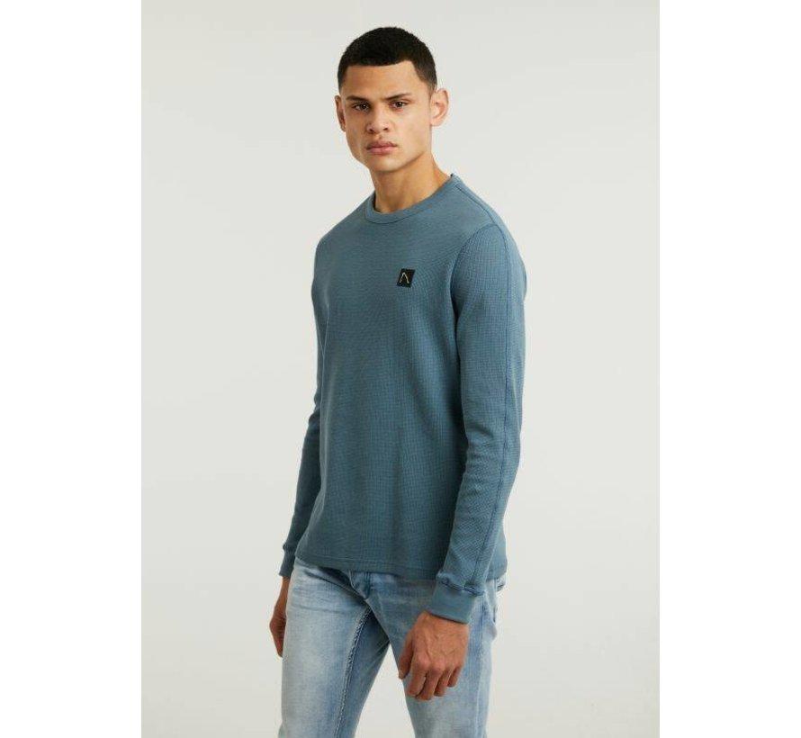 Pullover FIBRE Mid Blauw (5111.213.037 - E62)