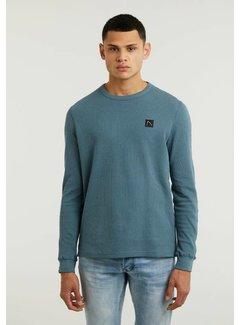 CHASIN' Pullover FIBRE Mid Blauw (5111.213.037 - E62)