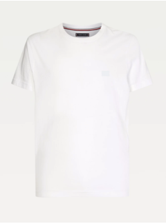 Tommy Hilfiger T-shirt Ronde Hals Wit (MW0MW17699 - YBR)