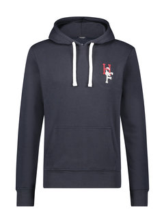 Haze&Finn Hooded Sweater Navy Blauw (MC15-0410 - Navy)