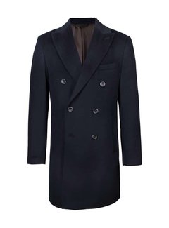John Edward Coat Navy (703420/23040 - 30)