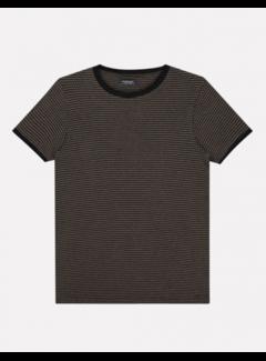 Dstrezzed T-shirt Ronde Hals Print Zwart (202666 - 999)