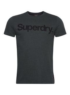 Superdry T-shirt Ronde Hals Olijf Groen (M1010850A - 5KS)