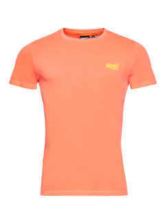 Superdry T-shirt Ronde Hals Volcanic Oranje (M1011251A - B5T)