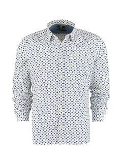 New Zealand Auckland Overhemd Hao Hoa Wit (21BN550 - 10)