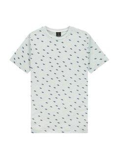 Kultivate T-shirt TS Pixel Ziggy Licht Blauw (2001030212 - 432)