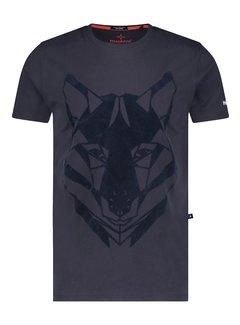 Haze&Finn T-shirt Husky Flock Navy (MC15-0001 - Navy)