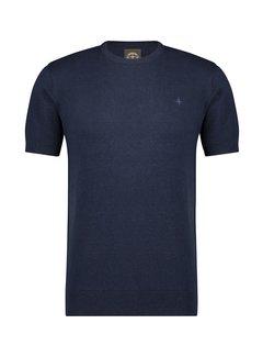 Haze&Finn T-shirt Knit Navy (MU15-0203 - Navy)