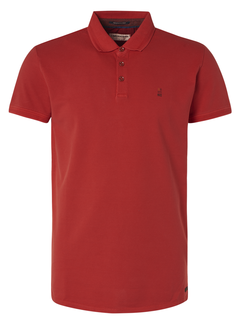 No Excess Polo Korte Mouw Rood (95370104N - 162)