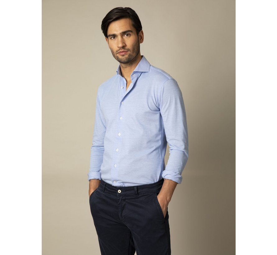 Overhemd Jersey Lange Mouw Franti Licht Blauw (110211006-610100)