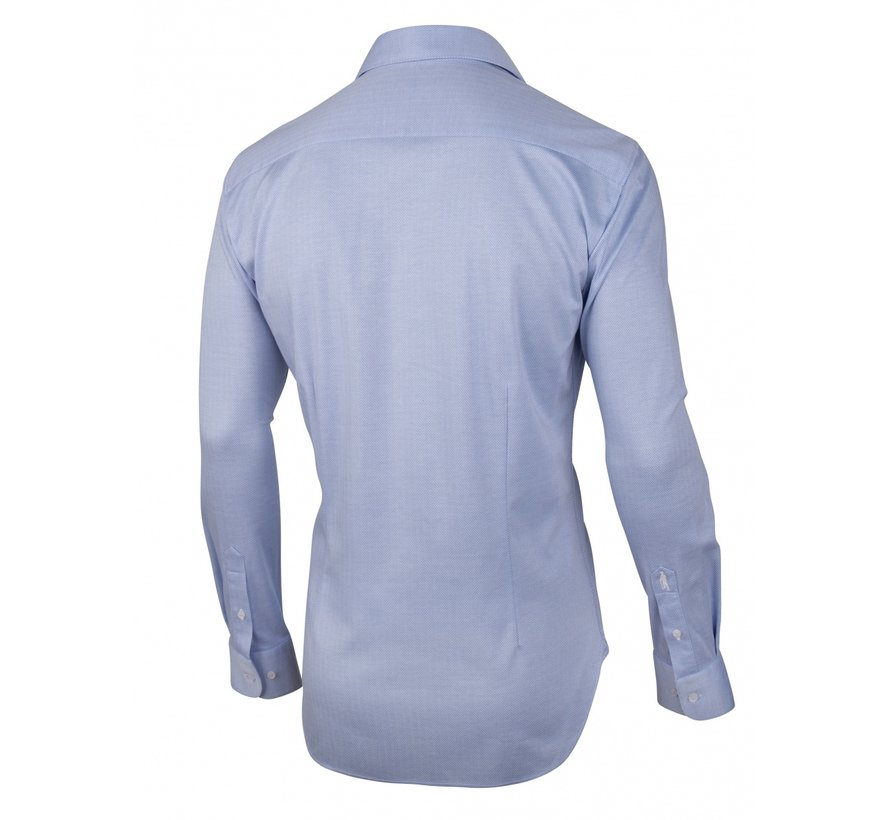 Overhemd Jersey Lange Mouw Prime Blauw (110211004-650100)