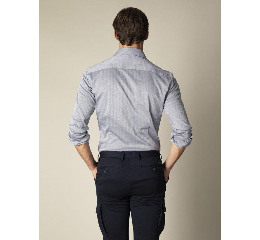 Overhemd Jersey Lange Mouw Tito Donker Blauw (110211003-690100)