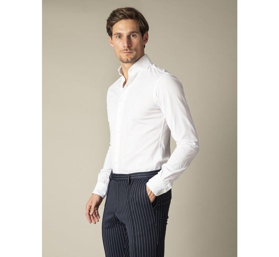 Overhemd Jersey Lange Mouw Justo Wit (110211000-100000)