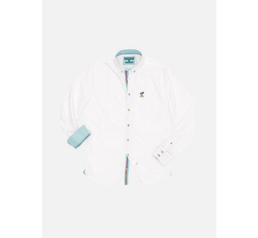 Overhemd John Wit (9121-200 - 201)