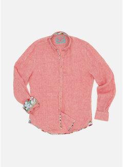 Colours & Sons Overhemd Liam Linnen Salmon (9121-210 - 213)