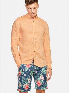 Colours & Sons Overhemd Liam Linnen Peach (9121-210 - 212)