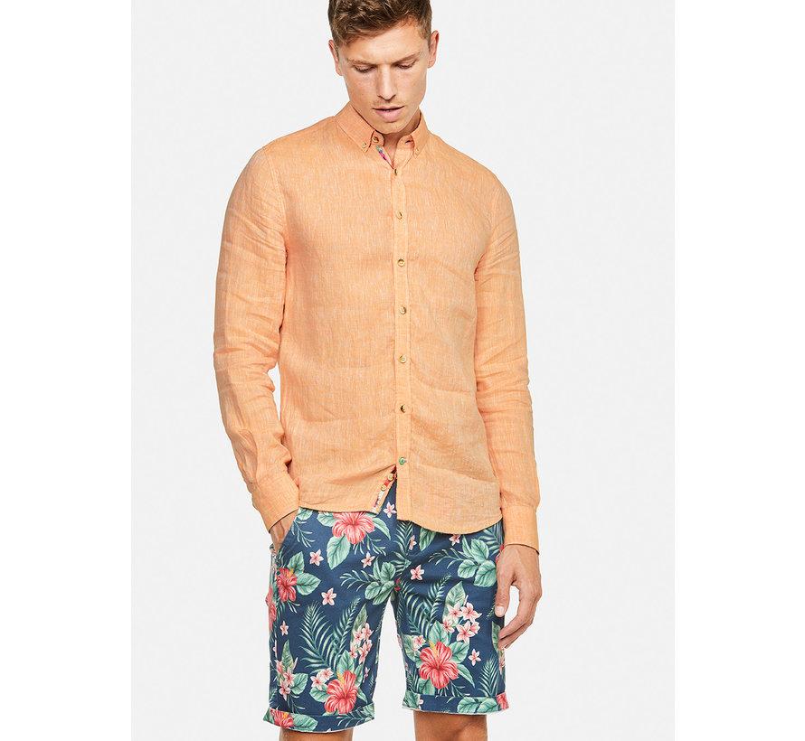 Overhemd Liam Linnen Peach (9121-210 - 212)