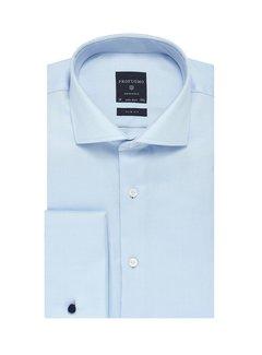 Profuomo Overhemd Slim Fit Twill Licht Blauw (PP0H0A026)N