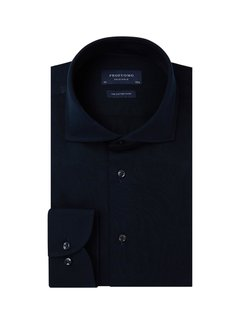 Profuomo Overhemd Single Jersey Knitted Navy (PP0H0A054)N