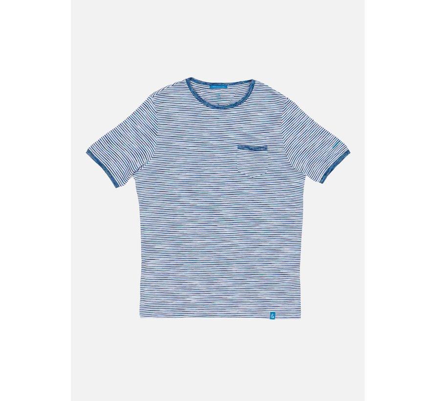 T-shirt Ronde Hals Mario Multicolor (9121-490 - 903)