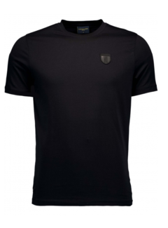 Cavallaro Napoli T-shirt Ronde Hals Napoli Zwart (117211010-999000)